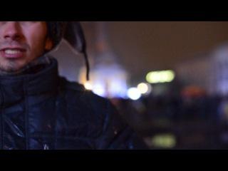 Євромайдан. Київ. 28.11.13. Ласточкін і Оксана