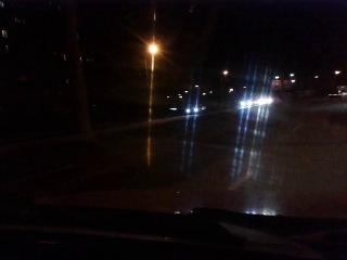 Левада (2.12.2013) Toyota Aven avensis въехала в столб