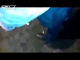 (+21) Участнику нападения на Беркут оторвало кисть светошумовой гранатой