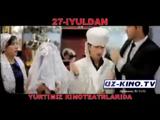 To'ydan Qochganlar Yohud Qachoq Kelin Filmi (TREYLER)