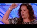 Победитель английского X-Factor в этом году.  Ей 35 лет и она работала тюремным надзирателем. Но всегда мечтала петь на сцене. Никогда не поздно начинать исполнять свои мечты!