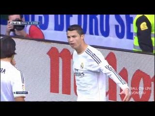 Чемпионат Испании-2014. 13-тур. Реал Мадрид - Реал Сосьедад 5:1 Обзор матча 9.11.2013