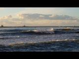 Мой зимний вечер. 10 января. Море,Солнце,Волны. Очень красиво