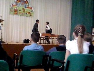 Витя Малеев в школе и дома сценка