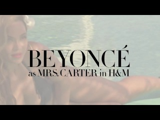 Beyonce as Mrs. Carter for HM Summer 2013 Behind The Scenes