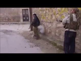 Веселая подборка неудач боевиков в Сирии