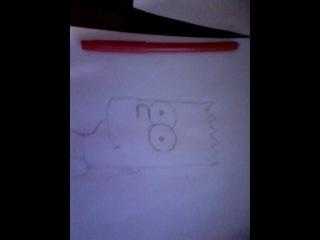 как нарисовать барта
