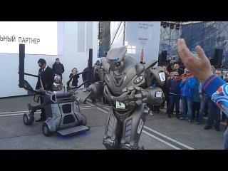 Классный робот на Олимпиаде в Сочи