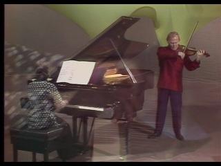 Иегуди и Хефзиба Менухины Sonate No.3 pour violin de George Enesco