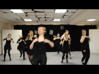 Зачет по танцу. Еврейский- хава нагила