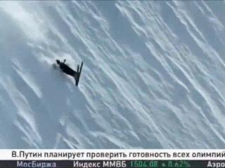 В.В.Путин покатался на горных лыжах