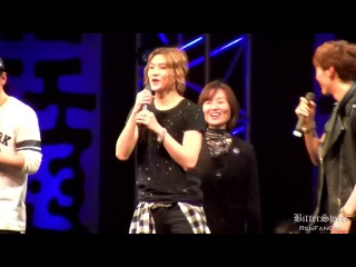 [Fancam] 140208 Sapporo Winter Festival Concert : #Ren danced 'Something' and 'Lipstick'