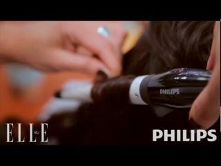 Видеоурок от Elle и Philips: укладка