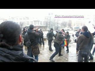 Гей-пикет в Воронеже
