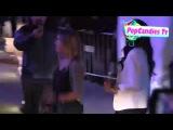 ☆Alexa Vega|Daily ℒℴѵℯ News☆ Alexa Vega & Carlos Pena exchange greeting upon departing KIIS FM's Jingle Ball Staples LA