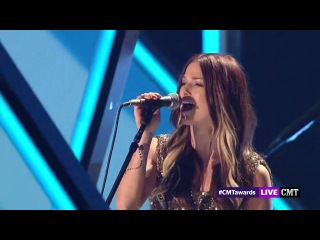 Cassadee Pope - Wasting All These Tears - CMT Music Awards 2013