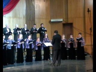 Троицкий камерный хор (Москва). Концерт в Череповце