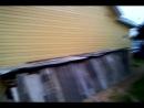 Кенозеро завершение обшивки сайдингом дома в Першлахте
