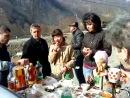 Брат Витя приехал в отпуск на Кавказ....Отдыхаем...Шашлыки кавказские вкусно очень, хичины,горы и далеко идущие планы...