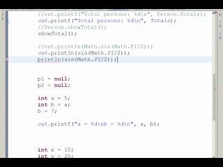 Java. Основы программирования. Часть 3 (видео урок) [compteacher.ru]