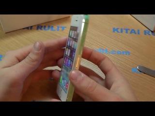 Aliexpress покупки. Обзор на Айфон из Китая - заказать, купить китайский Iphone 5S white на Алиэкспресс.