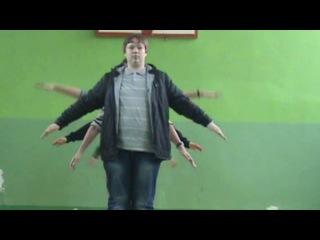Танец под песню Ylvis – What does the fox say (команда КВН МУЗЛА) город Белгород