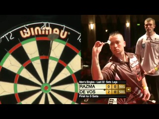 Geert De Vos vs Madars Razma (Winmau World Masters 2013 / Last 32)