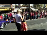 'Disney Dreams' - Dancing in ABC-Disney's Christmas Parade with The 'Teen Beach Movie' Cast