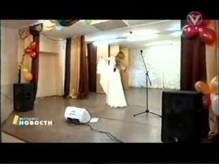 Концерт Юлии Савичевой в женской колонии