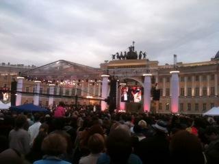 День города 2013- звезды мировой оперы и джаза на Дворцовой площади