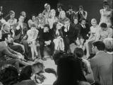 Анни Жирардо, Ив Монтан и Клод Лелуш в передаче