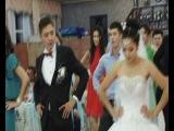Дархан и Тогжан свадьба флэш моб