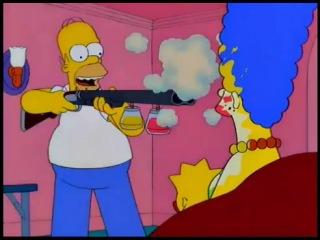 Макияжное ружье Гомера