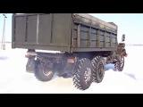 ЗИЛ-131. Управляемый занос. (Автомобильные войска, автобат)