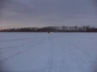 по не глубокому снегу на форестере SF5 атмо