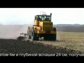 Трактор К700 свап на Рено 420horses