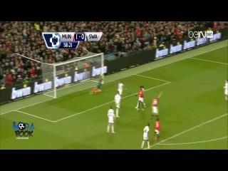 АПЛ 2013-14 Манчестер Юнайтед - Суонси (2 - 0) Обзор матча
