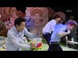 "Ep.131 Exo (Чанёль, Крис, Сухо) ""WOLF"" dance. Talk Show Hello ● Hello Counselor ● Ток-шоу ""Привет"