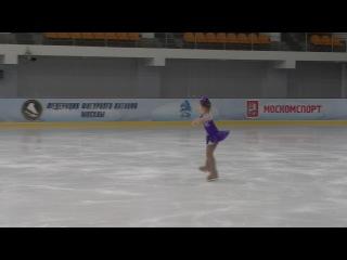 Маша на соревнованиях в Москве.высупили для первого раза очень даже не плохо....