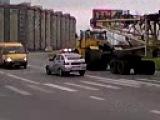 перевозка башенного крана г.Губкин (часть 3)