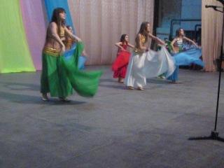 Танец с платками СВТ Волшебный Восток детская группа