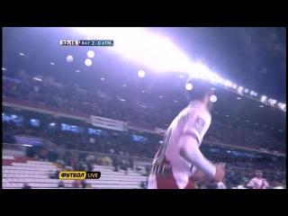 Лео Баптистао видео гол. Райо Вальекано - Атлетико Мадрид. Чемпионат Испании по футболу 23 тур. Footballer.name