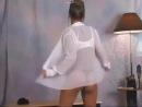 Christina Model - Sexy Secretary Outfit / Кристина трясет своими огромными сиськами bmw