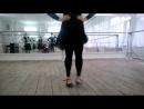 русский танец - дробный бег 1к.1с.