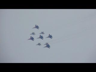 Парад авиационной техники в севастополе (2014 г)