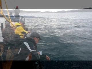 Морская рыбалка в Баренцевом море на Кольском полуострове