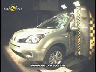 Краш-тест  Renault Renault Koleos (Рено Колеос) EuroNCAP