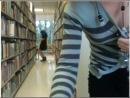 Две девушки раздеваются(ого? ?яются) на вебку в публичной библиотеке