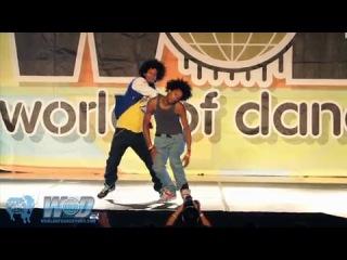 Les Twins (France) vs Lil'O Tyger B (USA) - Juste Debout 2011 Semi-Final - YAK FILMS