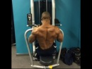 Highlights from my first training session of the year, big back day!